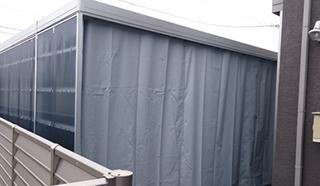 ターポリンビニールカーテン