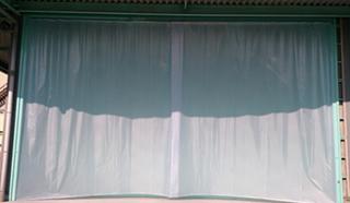 不燃ターポリンビニールカーテン