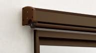アルミ形材色-ブラウン(B1)