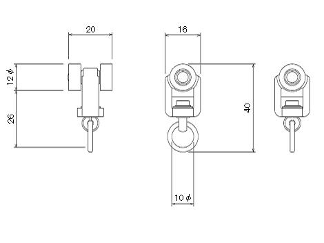 D30ランナーの寸法図-1