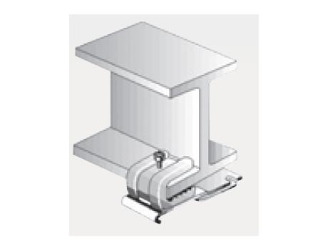 D30 クリップ付天井ブラケット 溶接タイプの寸法図-4