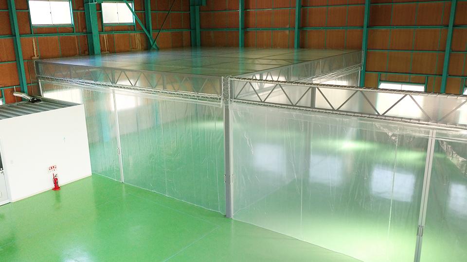 兵庫県伊丹市・鉄骨フレーム式・W9.0m×L9.3変形