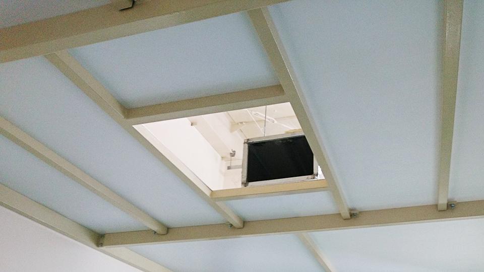 換気扇、エアコン、ダクト等下地フレーム