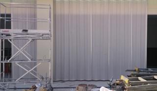 不燃ターポリンジャバラビニールカーテン
