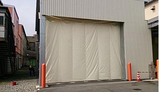パワーシートビニールカーテン