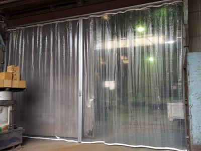 防寒・エアコン用ビニールカーテン