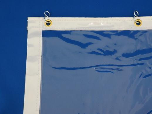 透明ビニールカーテン耐熱透明0.3