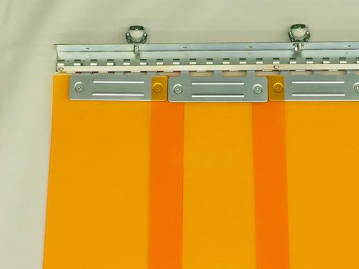 のれんカーテン可動式 帯電防止防炎防虫 2mmt×200mm幅