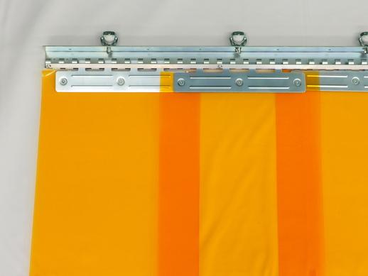 のれんカーテン可動式 帯電防止防炎防虫 2mmt×300mm幅