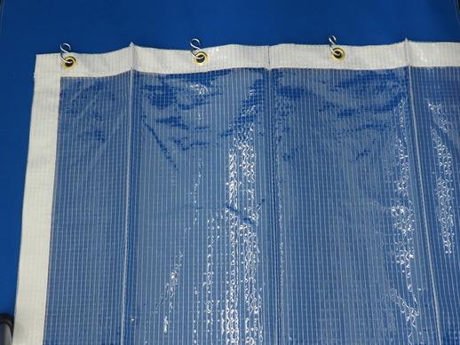 透明糸入りジャバラビニールカーテン PI-3300