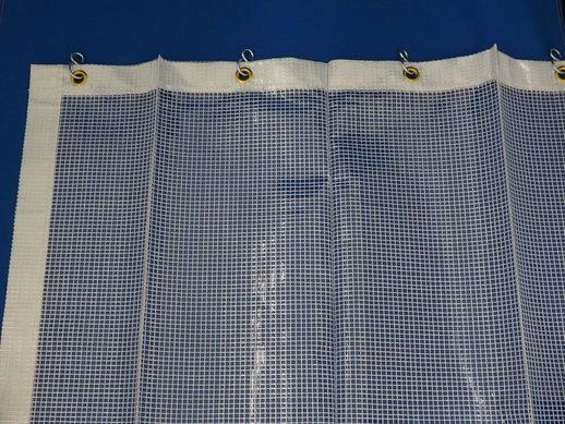 透明糸入りジャバラビニールカーテン VT-038