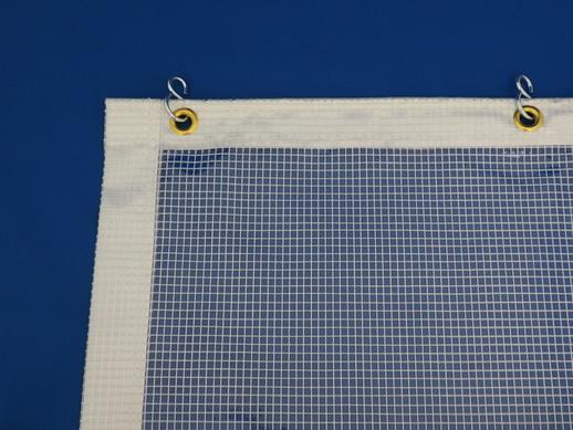 透明糸入ビニールカーテン耐熱糸入り0.46t