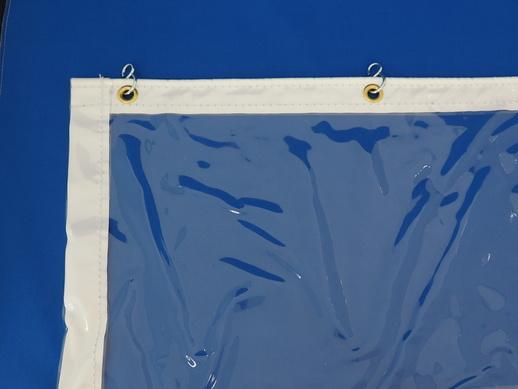 透明ビニールカーテン – セイデンクリスタル0.5t