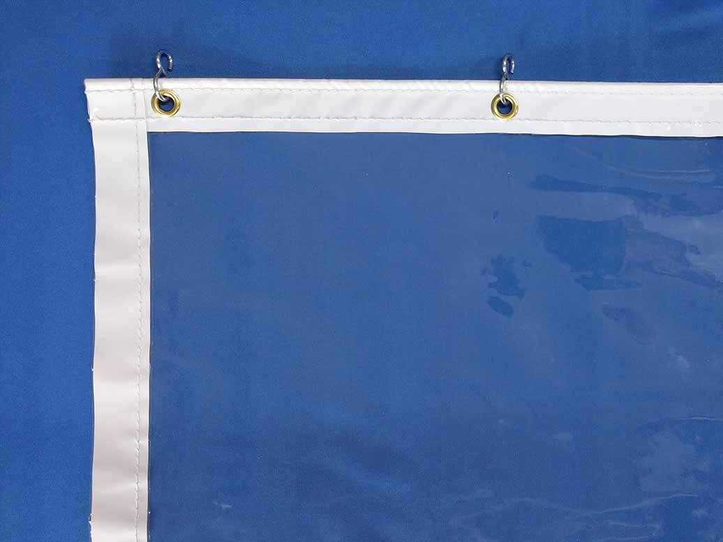 透明ビニールカーテン 抗ウイルス0.3t