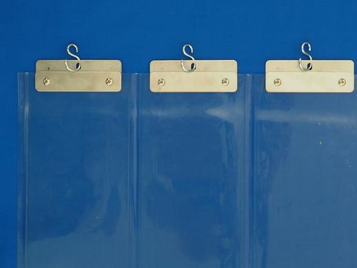 透明ジャバラビニールカーテン 防炎透明セイデンクリスタル1.3mmt